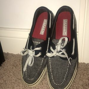 WORN ONCE sperry slip on shoes